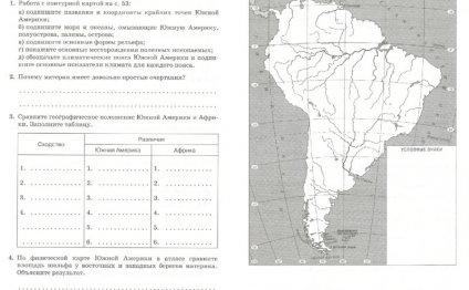 ГДЗ решебник по географии 7
